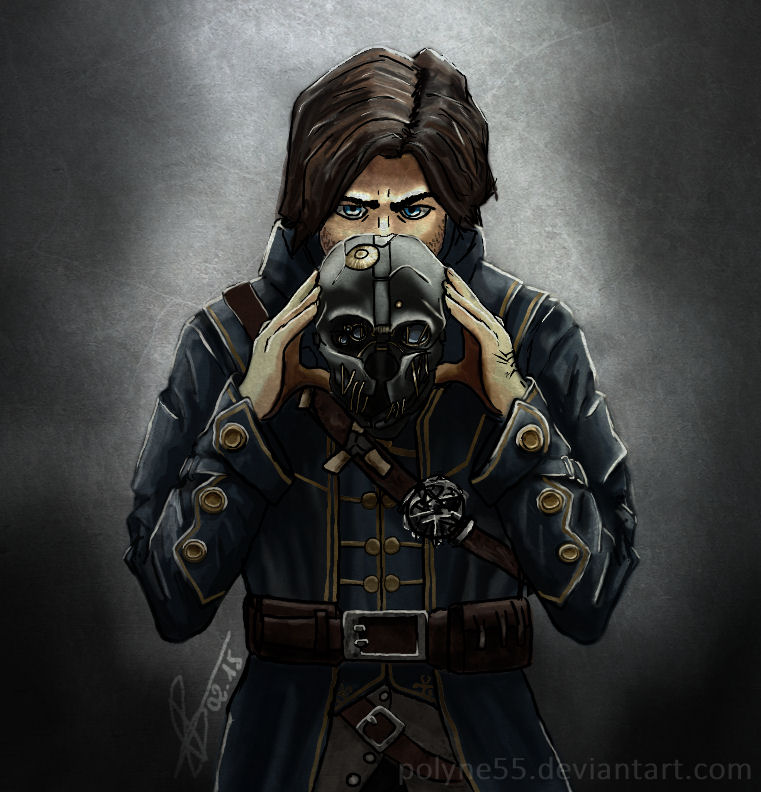 Corvo Attano - Dishonored by Polyne55