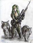 Metal Gear Solid-Sniper Wolf