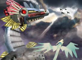 Paper Dragon Concept 1 by meganbednarz