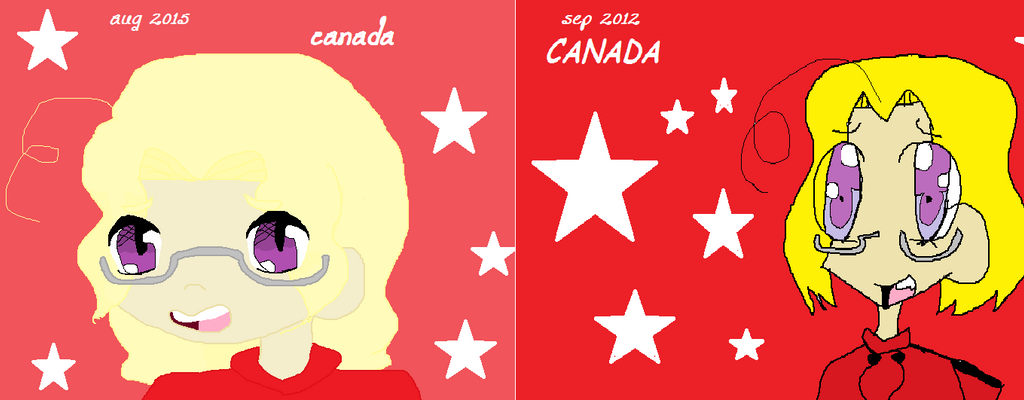 Before and after: Canada by sunshine4890
