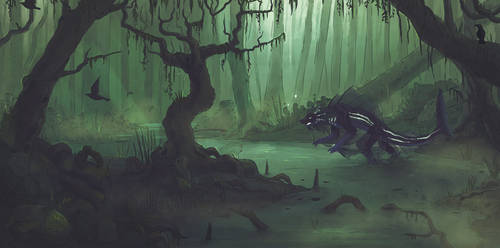 Swamps by etrii