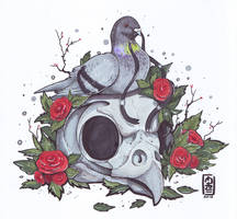 Pigeon of the Death by etrii
