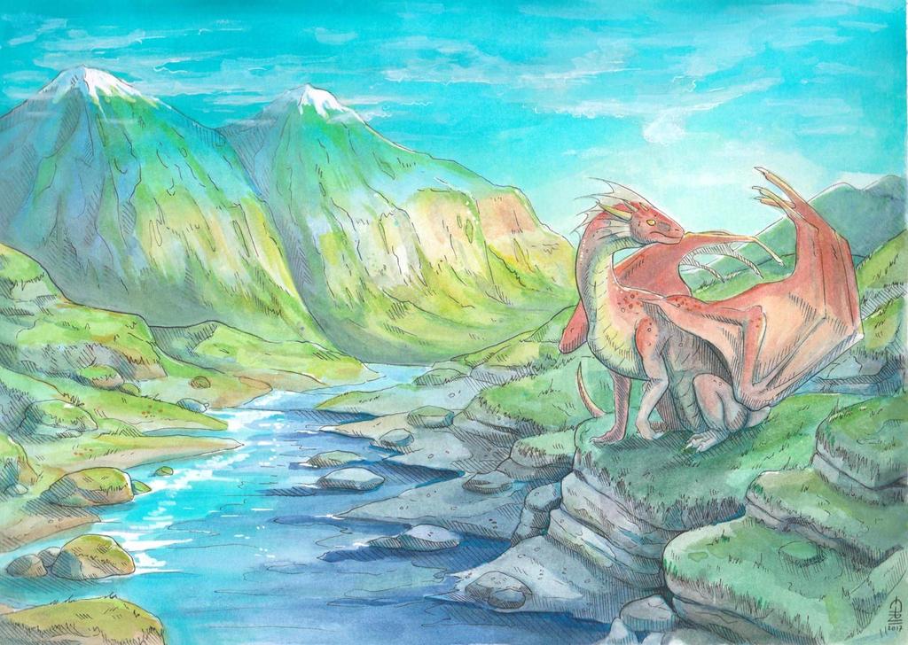 Dragon Land by etrii