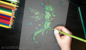 Little nature dragon