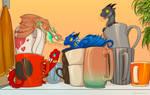 Among a mugs by etrii