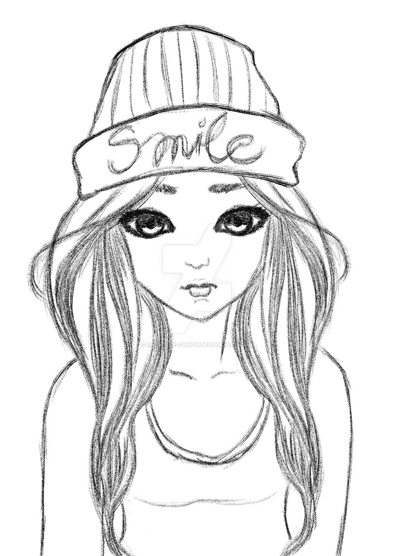 Beanie Girl By Creative Candy