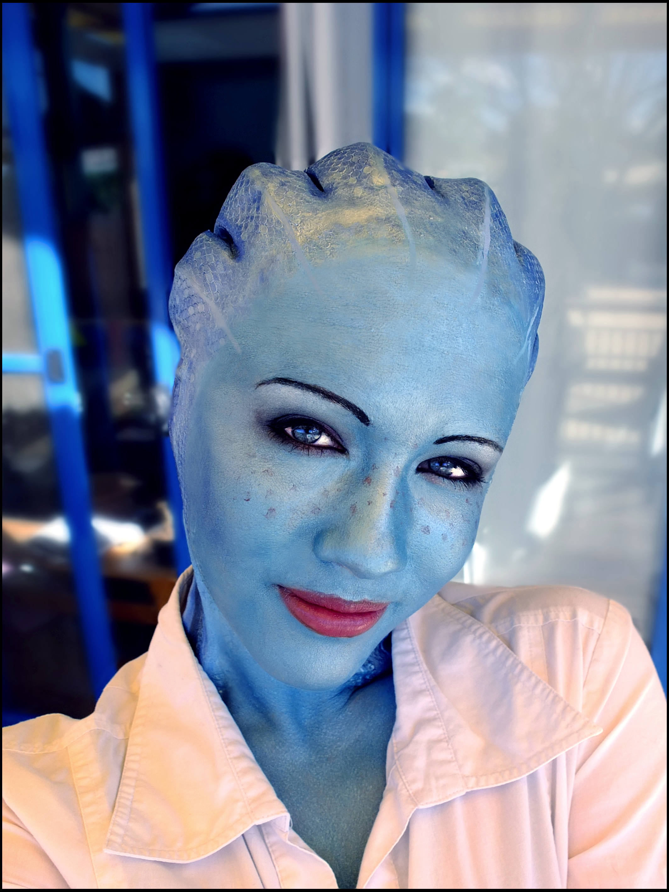 Liara cosplay - Home sweet home by Soylent-cosplay