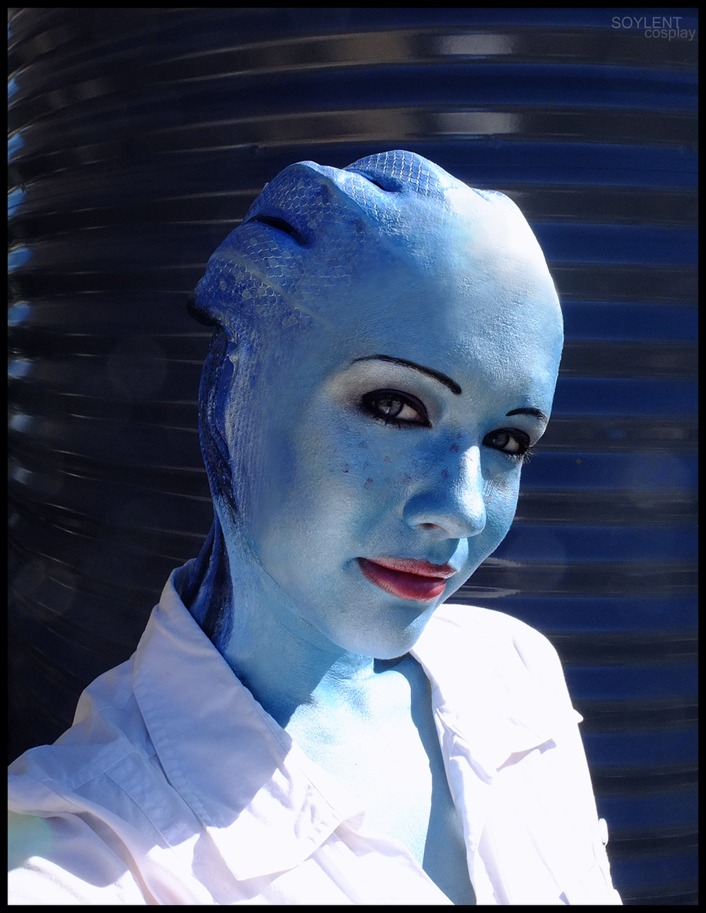 Liara cosplay - Moments glance by Soylent-cosplay