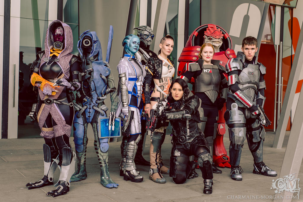 Squadmates - Mass Effect Cosplay by Soylent-cosplay
