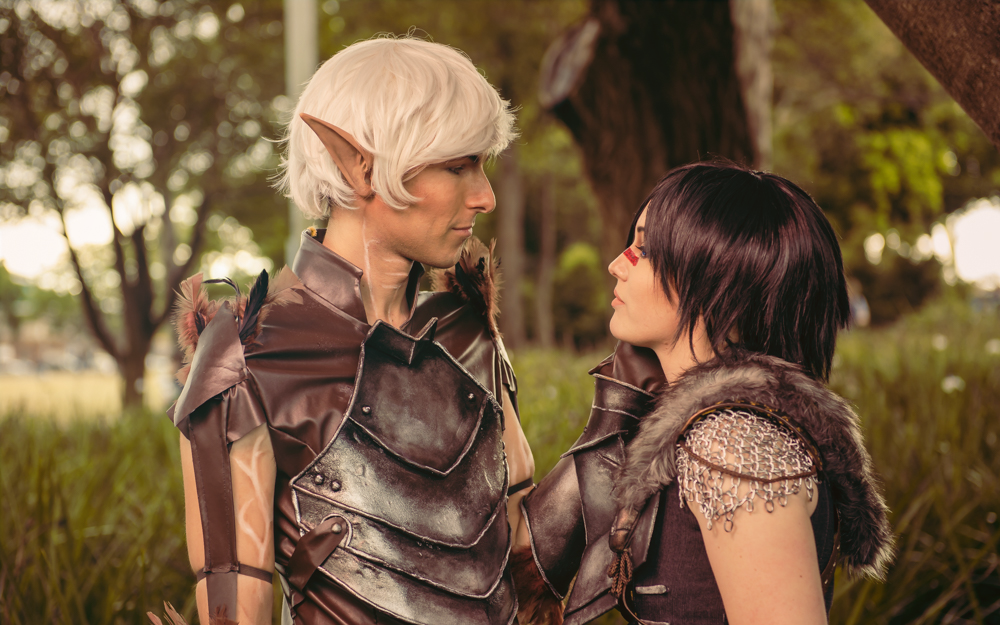'I am yours' - Dragon Age 2 Cosplay by Soylent-cosplay