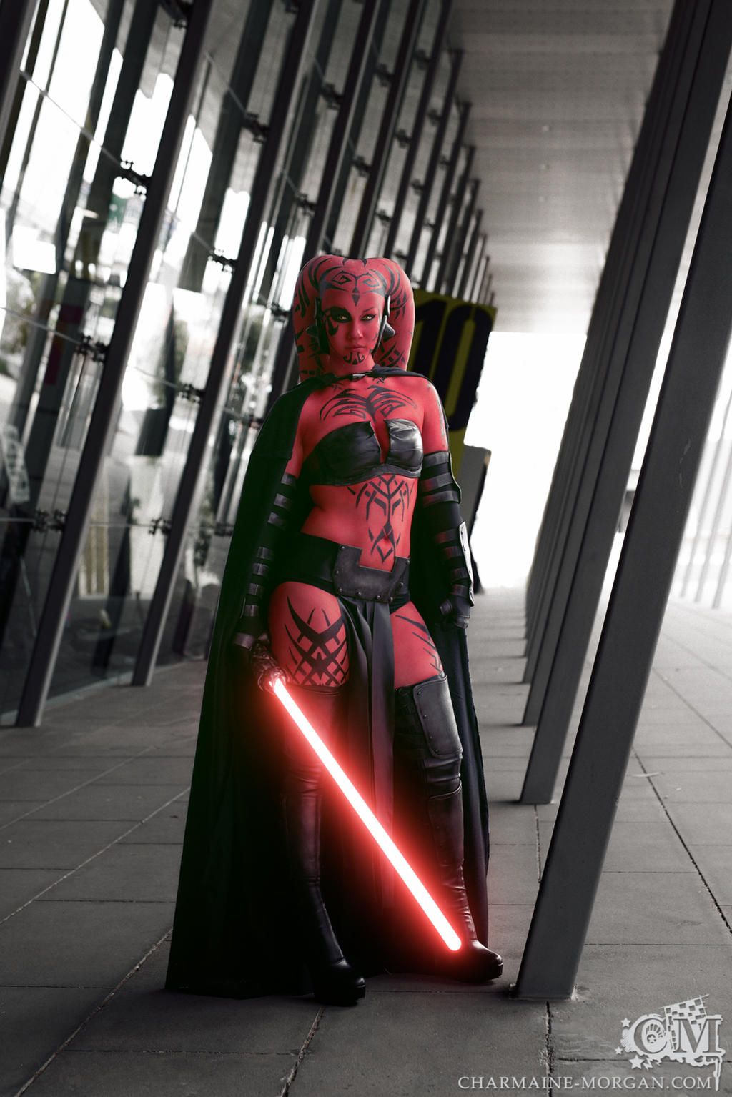 5 Shots Of Darth Talons Enigmatic Cosplay Will Take You