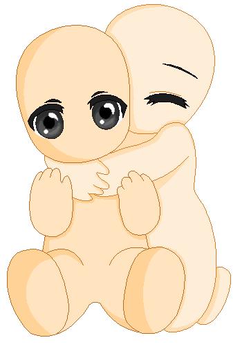 Anime Couple Bases Hugging | www.imgkid.com - The Image ...