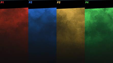 SSBU 4-Player VS Screen Template by LKGaming