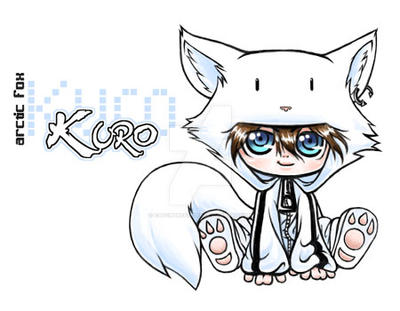 Kuro the Arctic Fox by catchthefeel89