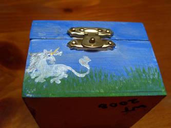 shadow box unicorn 1 by Almalphia
