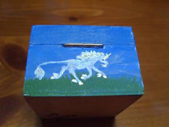 shadow box unicorn 2 by Almalphia