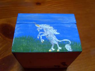 shadow box unicorn 3 by Almalphia