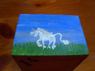 shadow box unicorn 4 by Almalphia