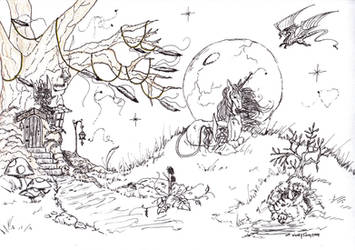 Fairy Glen by Almalphia