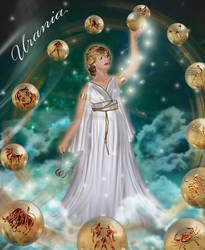 Urania in Gold 2by Almalphia