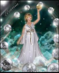 Urania in silver 2 by Almalphia
