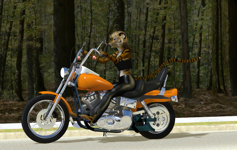 Jessie on Hog by LionkingCMSL