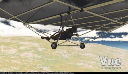 Tiffany Hang Gliding by LionkingCMSL