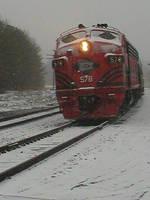 Lehigh Valley #578 in Snow