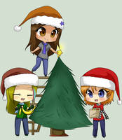 Decorating the Tree by DreaChu