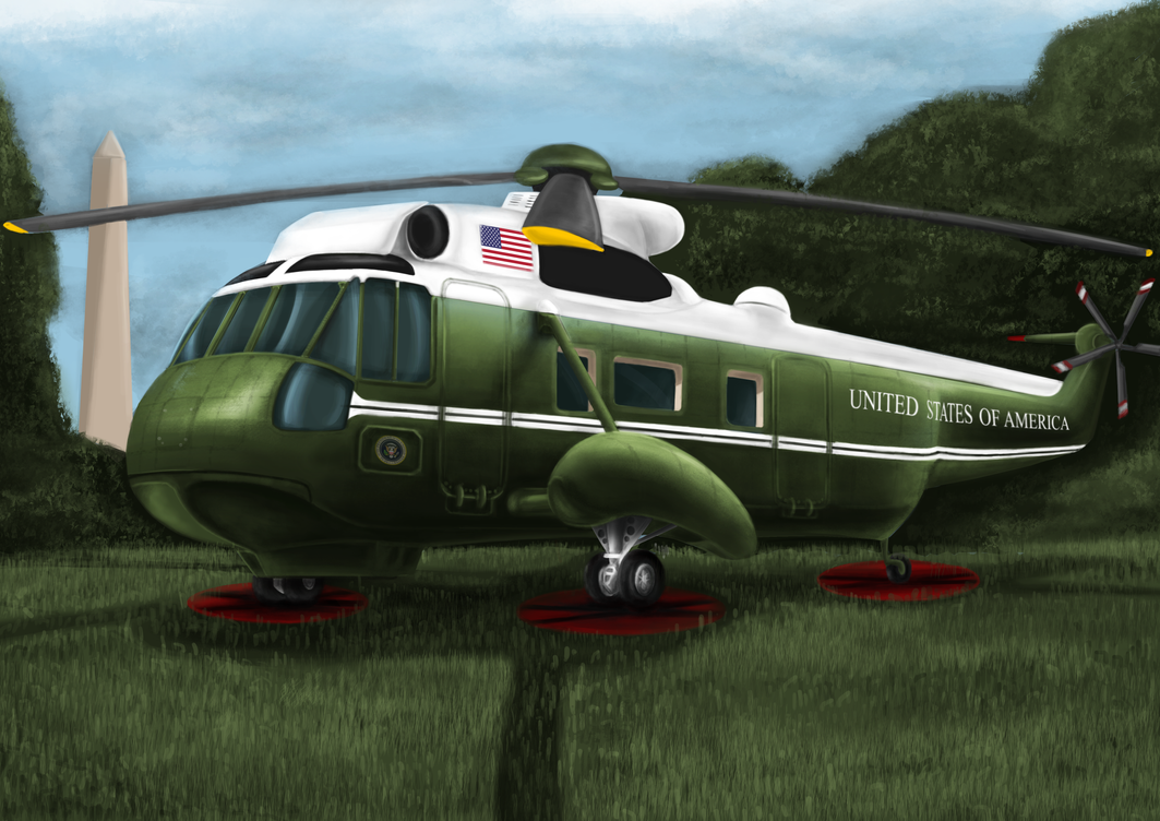 Marine One VH-3D Sea King by LukeLdh