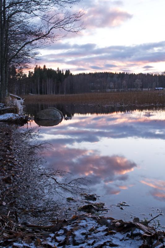 Calm Evening II by Enalla