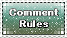 Comment Rules Stamp by Dawnneh