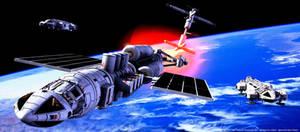 Space 1999: Meta Probe escort