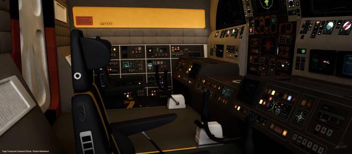 Eagle Transporter Cockpit: Roberto Baldassarri