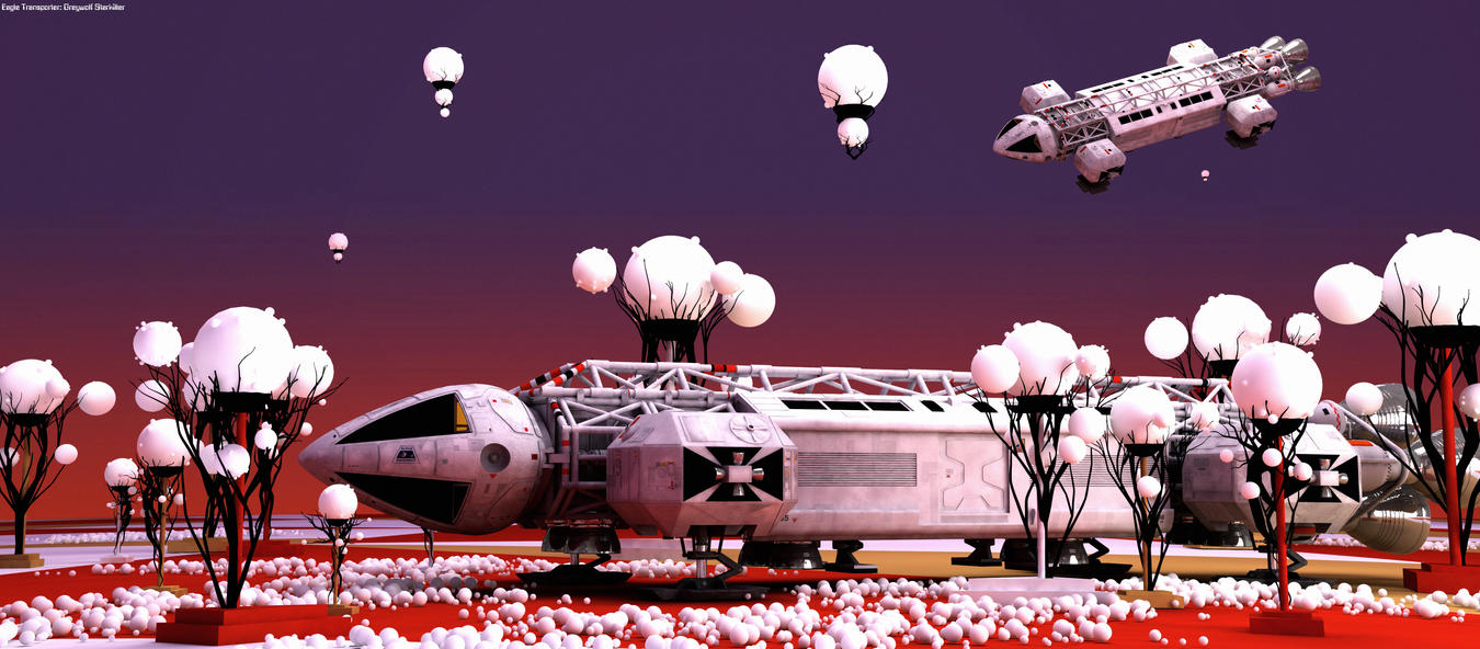 Space 1999: The Guardian of Piri wide by Tenement01 on ...