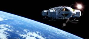 Space 1999: Eagle orbit by Tenement01