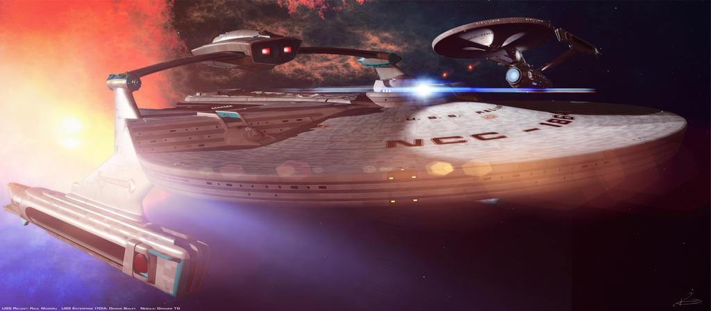 Star Trek: Battle in the Nebula by Tenement01