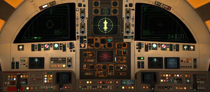 Space: 1999 - Eagle Cockpit