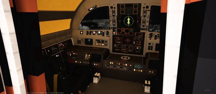 Space: 1999 - Eagle Cockpit Exterior