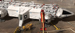 Space: 1999 - Breakaway Departure Science Pod
