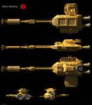Space: 1999 - Deltan Battleship