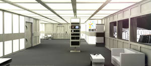 Space: 1999 - Alphan Reception Area 2