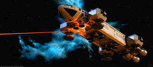 Space: 1999 - Laser Eagle by Tenement01