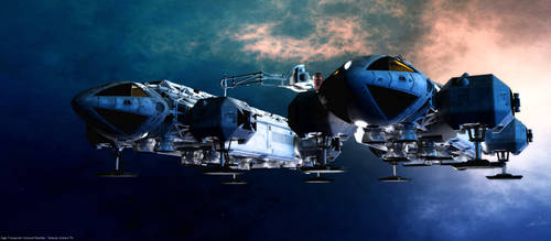 Space: 1999 - Refuelling Eagle