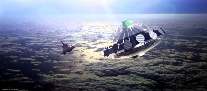 UFO - Sky 1 Closing