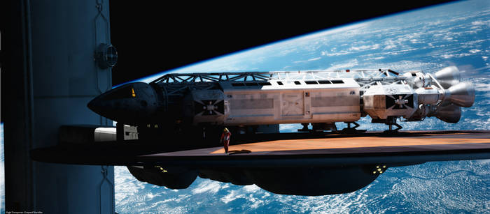 Space: 1999 - Best view in the house