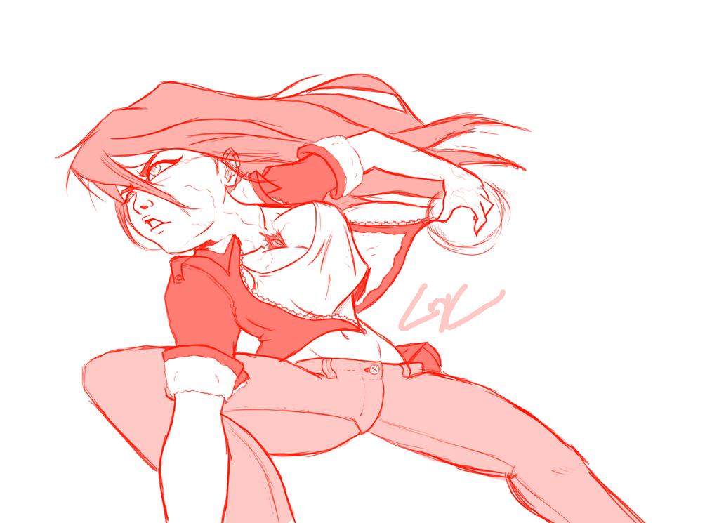 Magic girl sketch by CorytheC