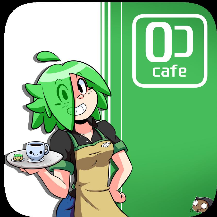 Natasha at work?? OC cafe?? by CorytheC