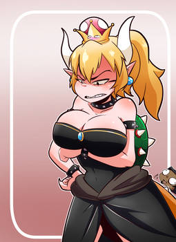 Bowsette?! (i think that's how its spelled?)