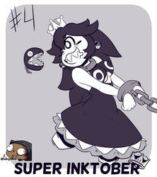 Super Inktober-Chain Chompette!! by CorytheC